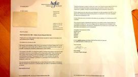 HEFCE letter