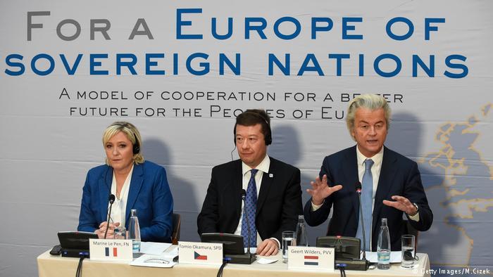 Le Pen in Prague