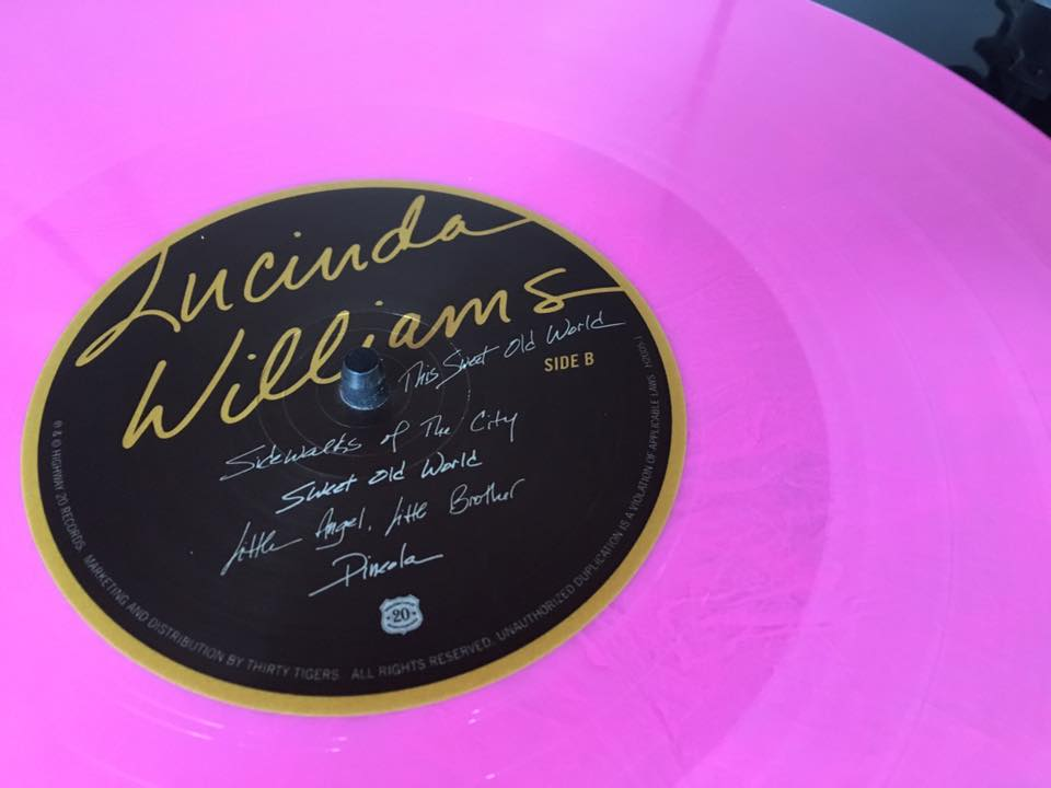 lucinda williams sweet old world