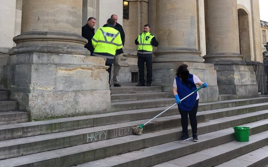 oxford woman cleaner