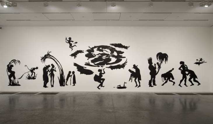Grub for Sharks: A Concession to the Negro Populace 2004 by Kara Walker born 1969